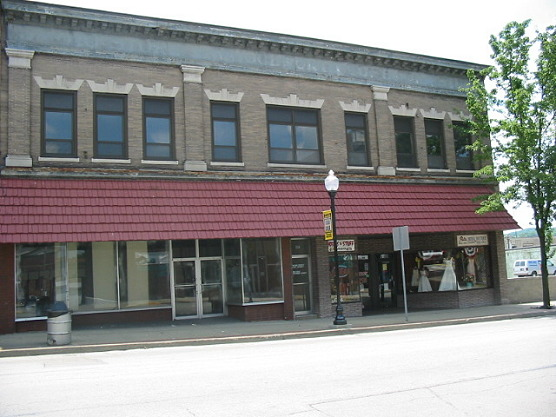 Building Along Crawford Avenue in Downtown Connellsville - Connellsville, PA