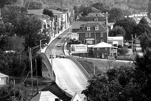 Overlooking Main Street in Everson - Everson, PA