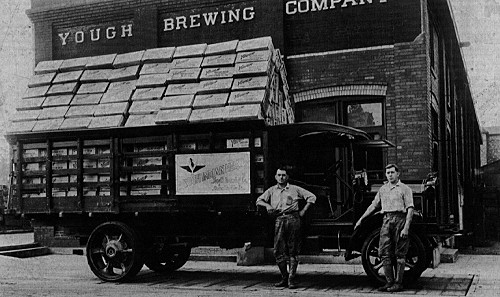 Yough Brewery along South Arch Street - Connellsville, PA