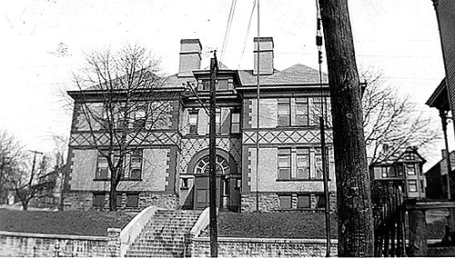 Third Ward School, Connellsville, PA - 1940's - Connellsville, PA