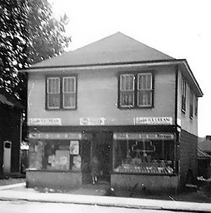 Bud Murphy's Store, McCormick Avenue - 1940's - Connellsville, PA