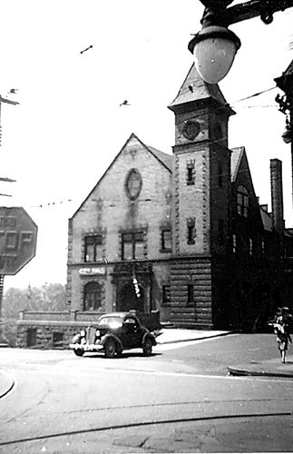 Connellsville City Hall, 1930's -1940's - Connellsville, PA