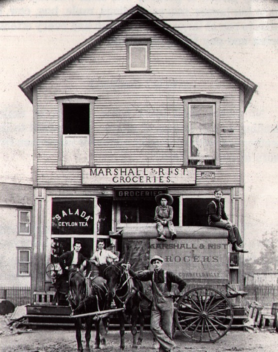 Marshal and Rist Grocery - South Connellsville, PA