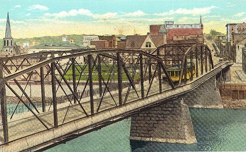 Bridge over Youghiogheny River, Connellsville, PA - Connellsville, PA