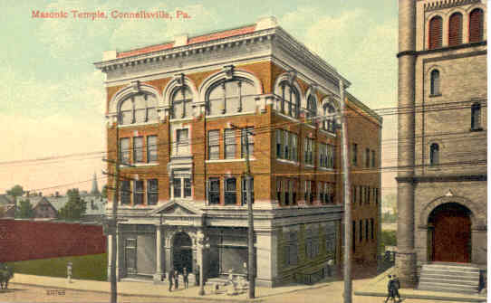 Masonic Temple, Connellsville, PA - Connellsville, PA