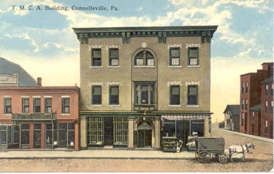 YMCA Bldg,  Connellsville, PA - Connellsville, PA
