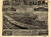 1902 Aerial Map of Dawson, Pennsylvania - Dawson, PA Thumbnail