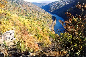 Nearly One Thousand Feet Above the Youghiogheny River